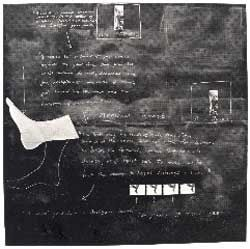 Tacita Dean Sixteen Blackboards (Board 3) 1992