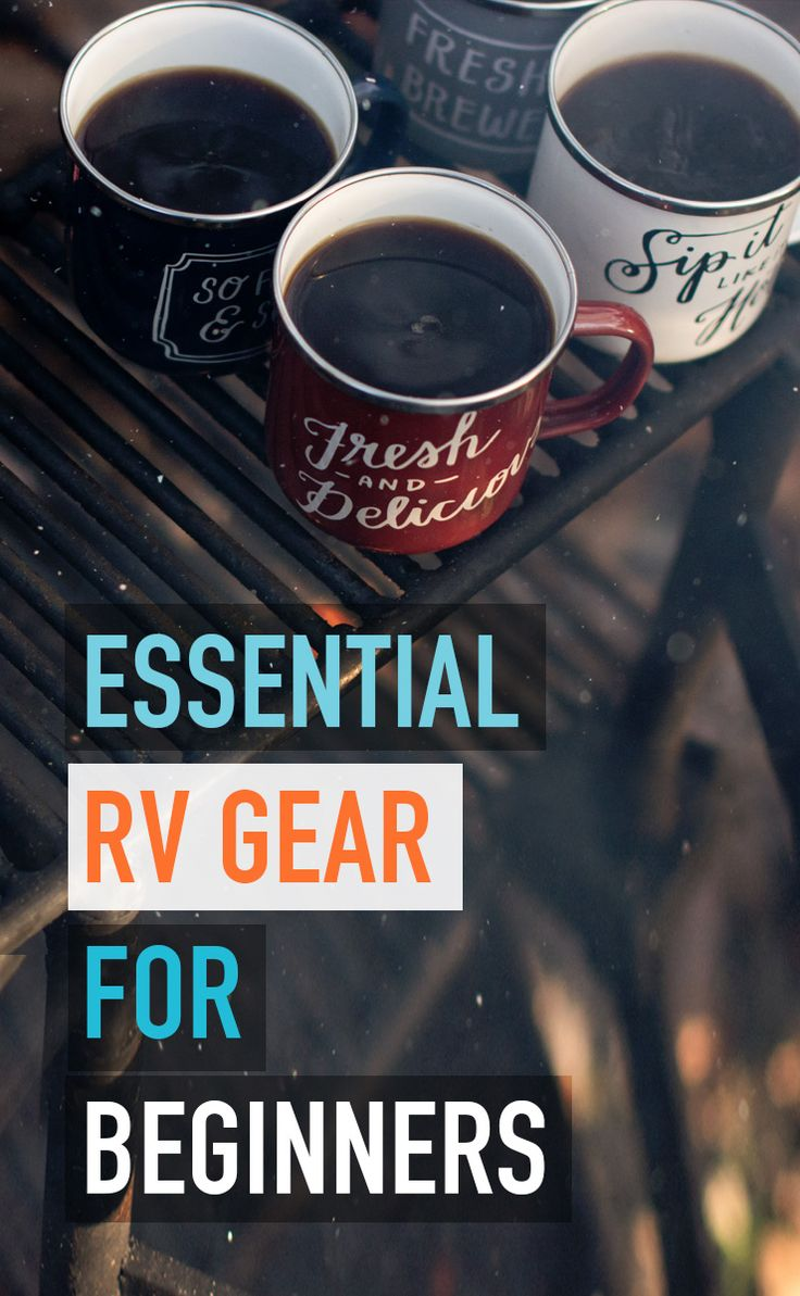 RV gear for your first rv trip