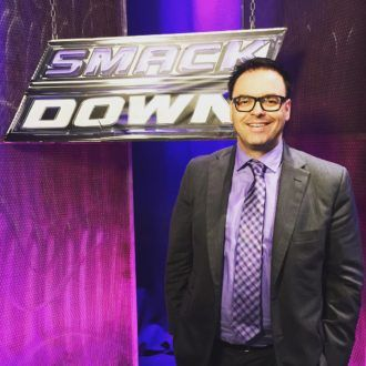 Mauro Ranallo - the new voice of the WWE ... and what a voice indeed!!