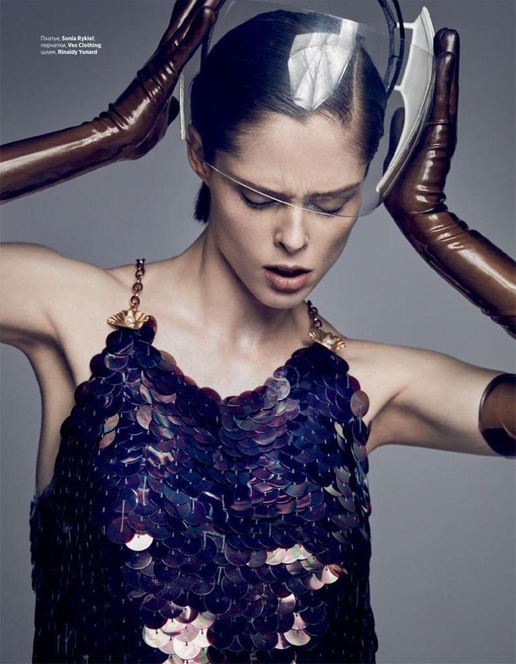 Coco Rocha | Futuristic Fashion Editorial | InStyle Rusisa Cover