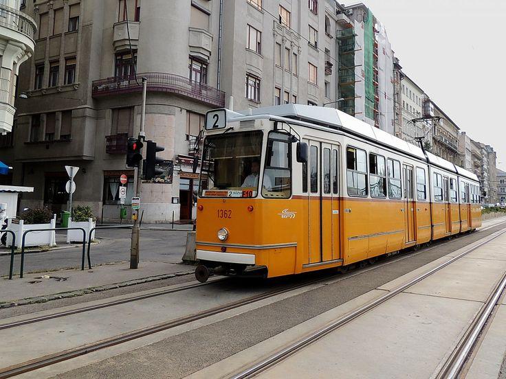 Tram No.2 in #Budapest