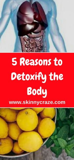 The body becomes overloaded with toxins due to various internal and external forces such as unhealthy foods and harmful environments.
