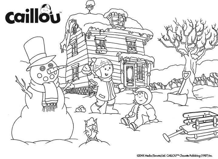 69 best images about caillou kaapo on pinterest coloring