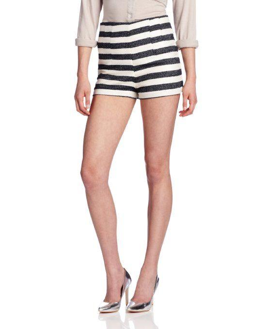 Amazon.com: BCBGeneration Women High Waisted Short: Clothing