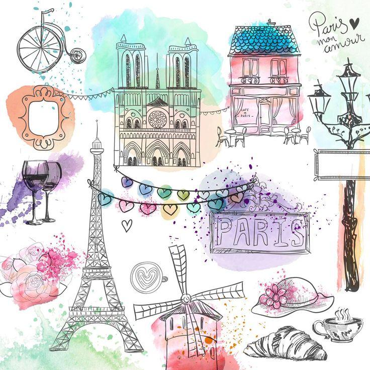 Картинки на тему путешествия, париж эйфелева башня