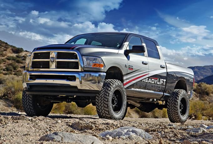 Dodge Ram 2500 King Of The Mountain Readylift Offroad