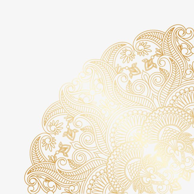 Gold Pattern Background Vector Material Golden Pattern Vector Material Png Transparent Clipart Image And Psd File For Free Download Vector Background Pattern Swirl Design Pattern Background Patterns