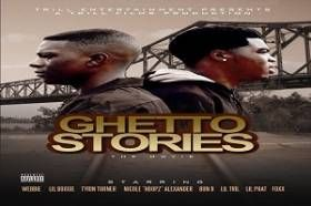 """Trill Ent. Presents: """"Ghetto Stories""""  Rival drug dealers struggle to make ends meet in the crime filled streets of Baton Rouge. Unaware that they are family, two young men from different sides of town wage a war on with each other that eventually culminates in a strong union. I can't believe the guy who played Cain fr..."""