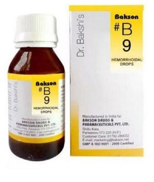 Bakson's B9 Hemorrhoidal Drop #Bakson | Homeopathy Medicine