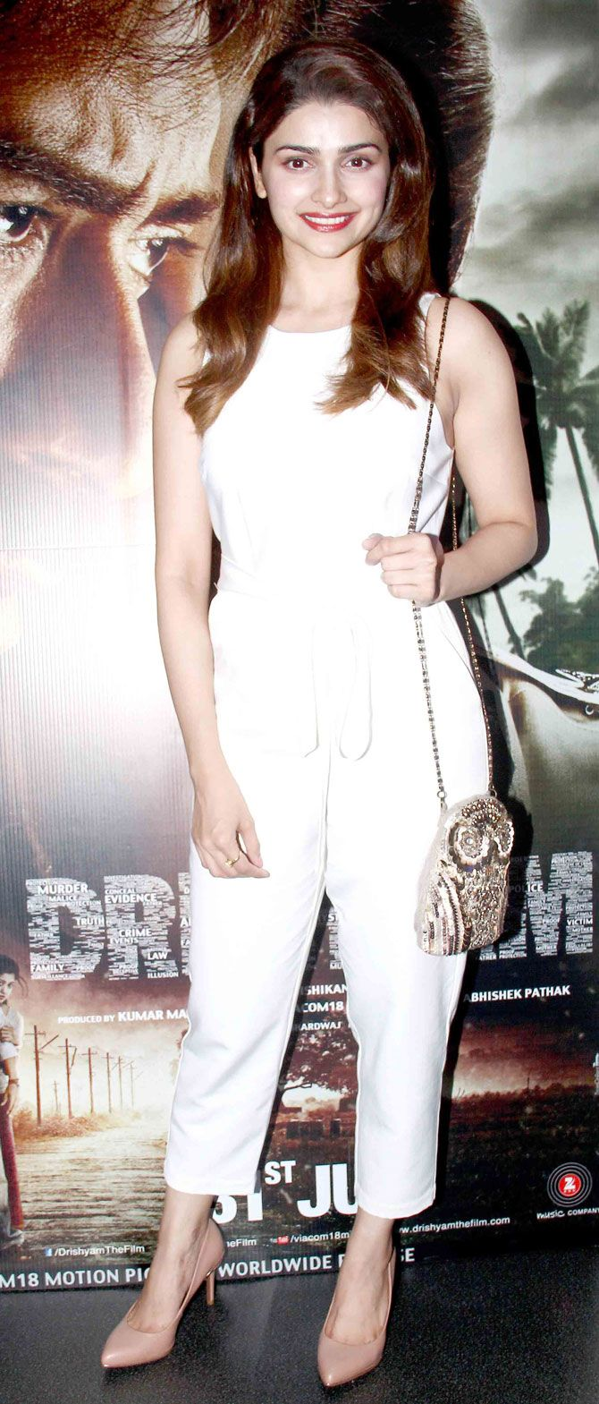 Prachi Desai at #Drishyam screening. #Bollywood #Fashion #Style #Beauty
