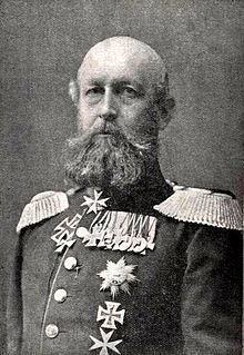 Grand Duke Frederick Francis II of Mecklenburg-Schwerin was married three times to three princesses.  He sired a total of eleven children with his wives.  He also found time to attend college and became a general in the Prussian army while ruling the grand duchy of Mecklenburg-Schwerin.  Frederick Francis outlived all three wives.