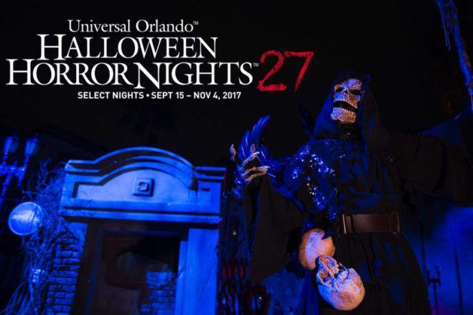 Dates Announced for Universal Orlando - Halloween Horror Nights 27 (2017)