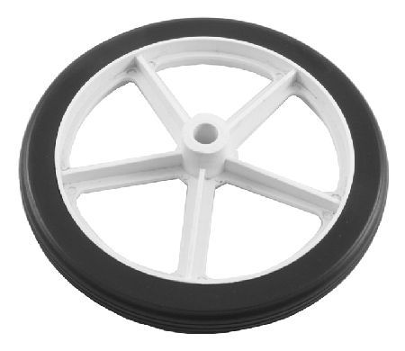 Select Hardware 160mm Diameter Spoked Wheel 10mm Bore Nylon spoked wheel. Typically used as a replacement wheel on prams, shopping trolleys etc. http://www.MightGet.com/january-2017-12/select-hardware-160mm-diameter-spoked-wheel-10mm-bore.asp