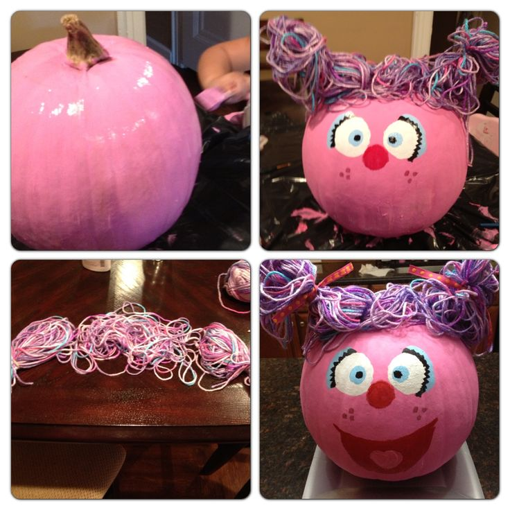 abby cadabby pumpkin halloween ideas used pink black white and blue