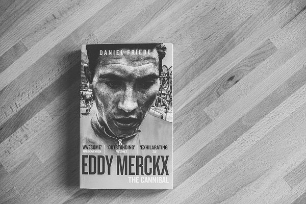 Isadore Apparel - The Cannibal - Daniel Friebe - The greatest cyclist ever and one of the greatest athletes who has ever lived, Eddy Merckx amassed an astounding 525 victories. #isadoreapparel #roadisthewayoflife #cyclingmemories #book