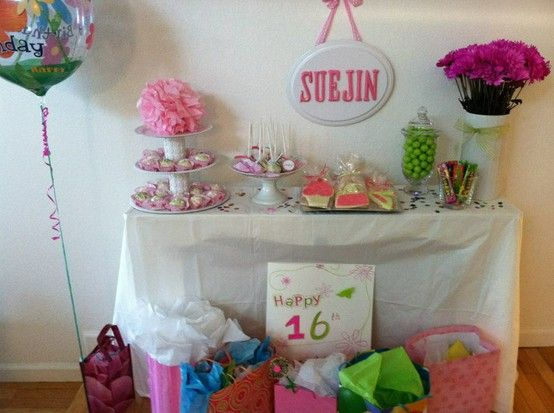 16th birthday party ideas im gunna need this for future for 16th birthday decoration