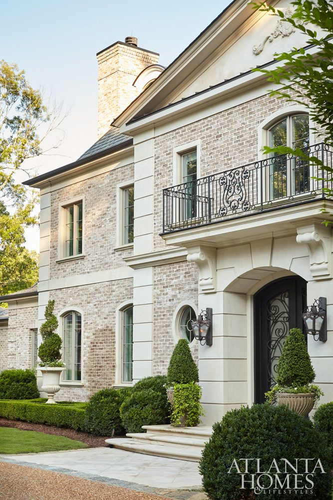 This Neoclassical French Home By Harrison Design Radiates A