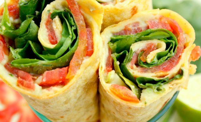 Lichte lunch wrap: vol met vezels en proteïne