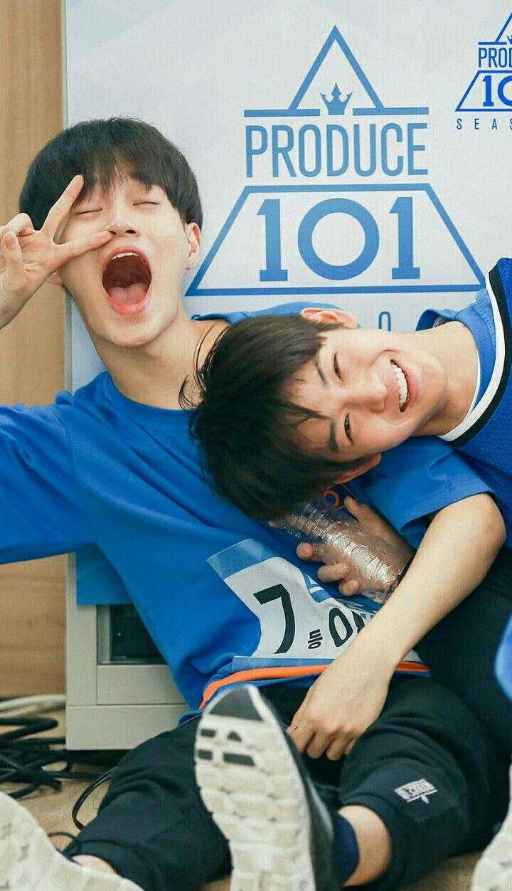 PRODUCE101 ss2 - Daehwi(대휘) jinyoung(진영) #jinhwi