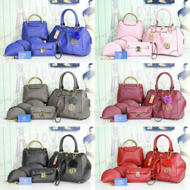 #tas#toryburch (280ribu) 6in1 New Arrived Torry Burch yoya 1056# Togo Quality Semi Premium# 30×20×24 (1,5kg)hc Cantik, Bagus, Buruaann👍🏻👍🏻👍🏻 BB 5994f533 WA 085765037530/08566549554 Tokopedia Hasna Wakhid olshop FB Hasna Wakhid tas