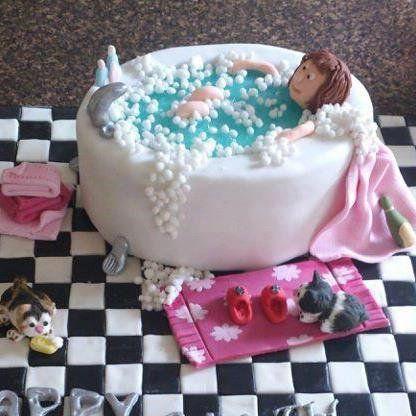Bath cake