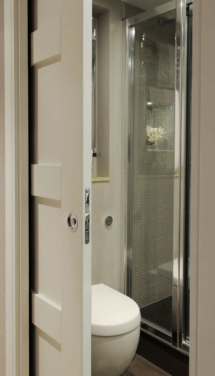 sliding pocket door bathroom 75 best Attic/Loft/En-suite shower or bathroom images on Pinterest | Bathroom, Small bathrooms
