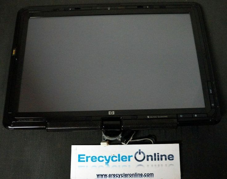 """65 12.1"""" HP Pavilion TX2000 Complete Laptop LCD Touch Screen Assembly OEM Tested"""
