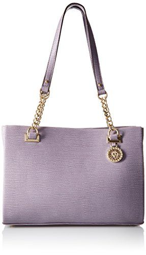 Anne Klein City Dweller Small Tote Bag,Lilac/Lilac,One Size ** Click here for more details @ http://www.passion-4fashion.com/handbags/anne-klein-city-dweller-small-tote-baglilaclilacone-size/?no=030716102146