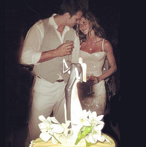 Hace solo unos días Gisele compartía en su cuenta de Instagram una imagen de su boda con Tom Brady (2009) © Instagram @Giseleofficial
