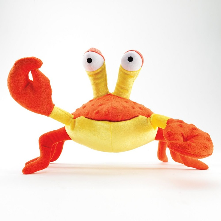 Make friends with a crab. #plush #PoutPoutFish #KohlsCares $5