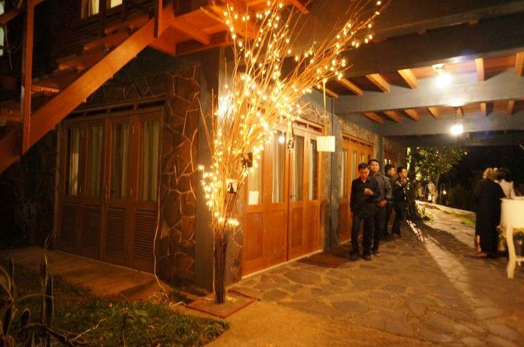 Wedding venue entrance @ Rumah Kebon Cengkeh Bandung, Indonesia