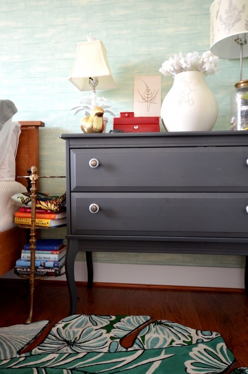 make some old furniture hip again with matte paint