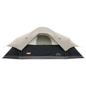 Amazon.com : Coleman Red Canyon 8 Person Tent, Black : Sports & Outdoors