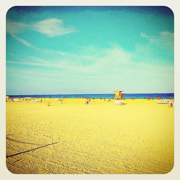 South Beach Miami Relax  - @balazsroth- #webstagram