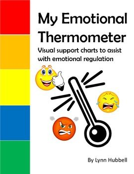 """""""My Emotional Thermometer"""" was created to help teachers teach younger children to learn to recognize their own escalation cycle, an important step in developing emotional regulation skills. $"""