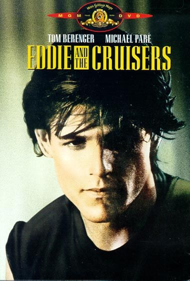 eddie and the cruisers... Songs actually performed by John Cafferty and the Beaver Brown Band and lip synched in movie by Michael Pare, who did a great job. Love both soundtracks a lot.