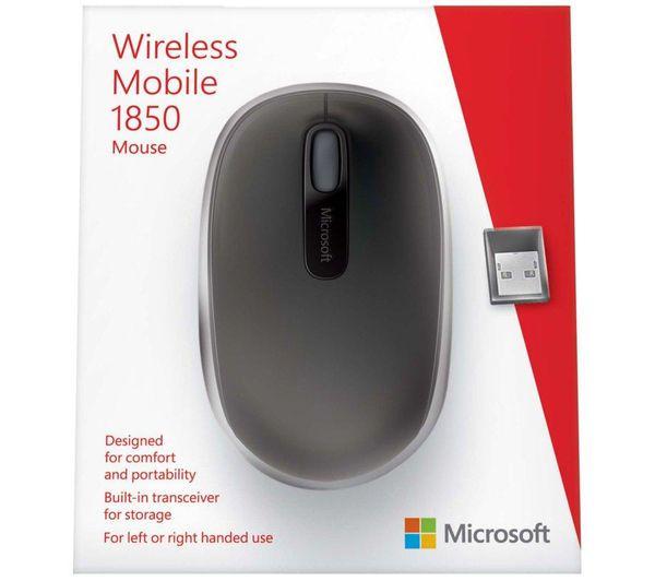 Mouse Microsoft Inalámbrico M1850 Negro $247.00 precio sujeto a cambio