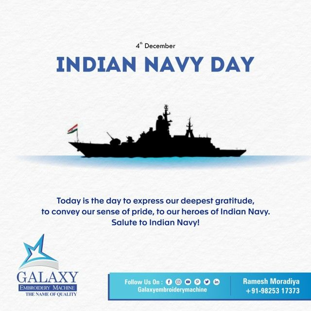 On Indian Navy Day We Salute Our Brave Indian Naval Warriors We Are Proud Of Valiant Navy Personnel For Serving Our Mo Indian Navy Day Navy Day Indian Navy