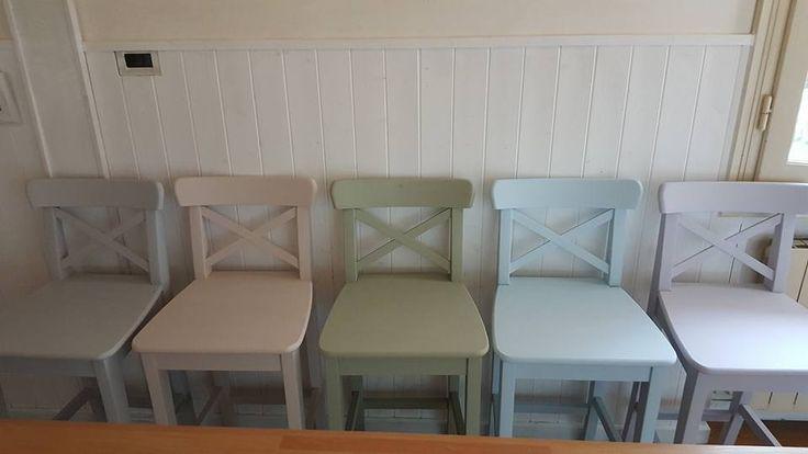 Colori pastello gamma #VintagePaint e le sedie prendono vita!