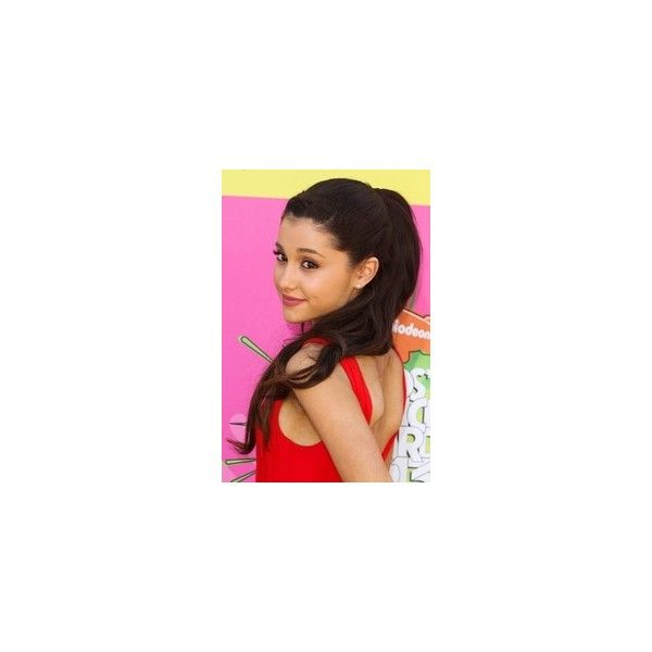 Ariana Grande 2013 Kids Choice Awards Nickelodeon Girls ❤ liked on Polyvore featuring ariana grande and ariana