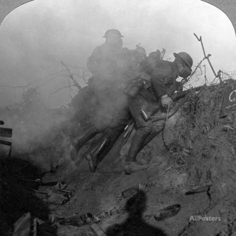 Trench Warfare, Bourlon Wood, France, World War I, 1914-1918 Photographic Print - at AllPosters.com.au