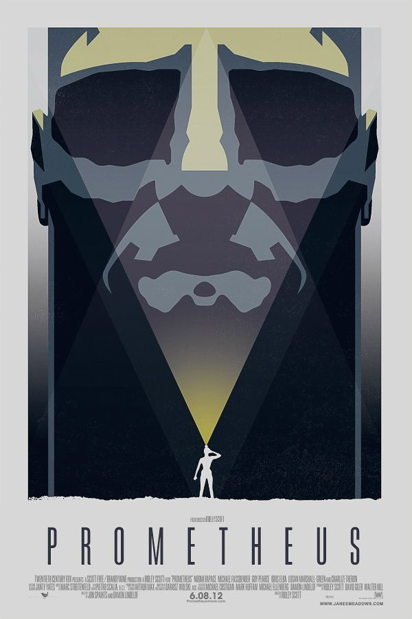PROMETHEUS BY JANEE MEADOWS  The 10 Best Alternative Film Posters Of 2012 - Films - ShortList Magazine