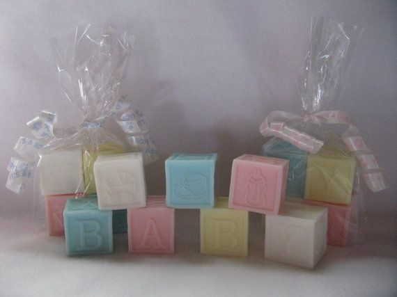 Hand Poured Baby Blocks Soap