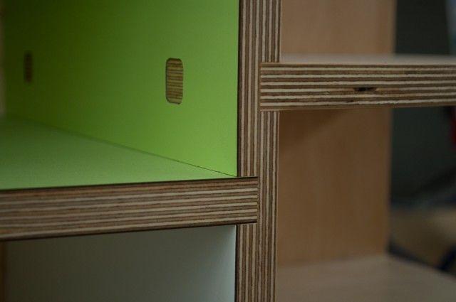 Dado construction with through tenons - Kerf Design