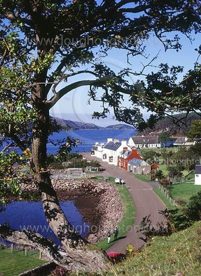Shieldaig, Ross and Cromarty, West coast Scotland