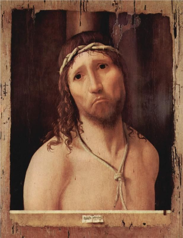 Ecce Homo, 1473 -Antonello da Messina