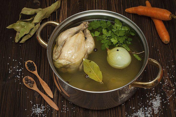 Kippenbouillon homemade gezond