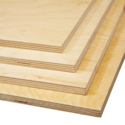 1/2'' Pre-Finished Baltic Birch Plywood Pack (Choose Your Size) - Woodworkers Source