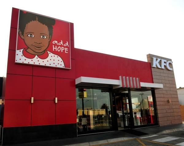 What makes a brand? KFC clearly believes values are at the heart of a brand, giving up its iconic Colonel branding on its restaurants to highlight the plight of hungry children in South Africa. Instead of the Colonel logo, smiling faces of children will look down on the restaurant entrances for October and November.