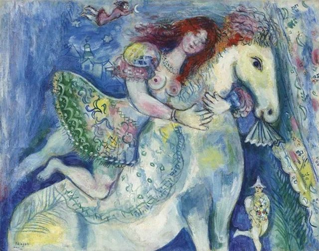 """Celebrating Marc Chagall """"Only love interests me, and I am only in contact with things that revolve around love."""" - Marc Chagall Happy Birthday Marc Chagall! The renowned French painter was born on..."""